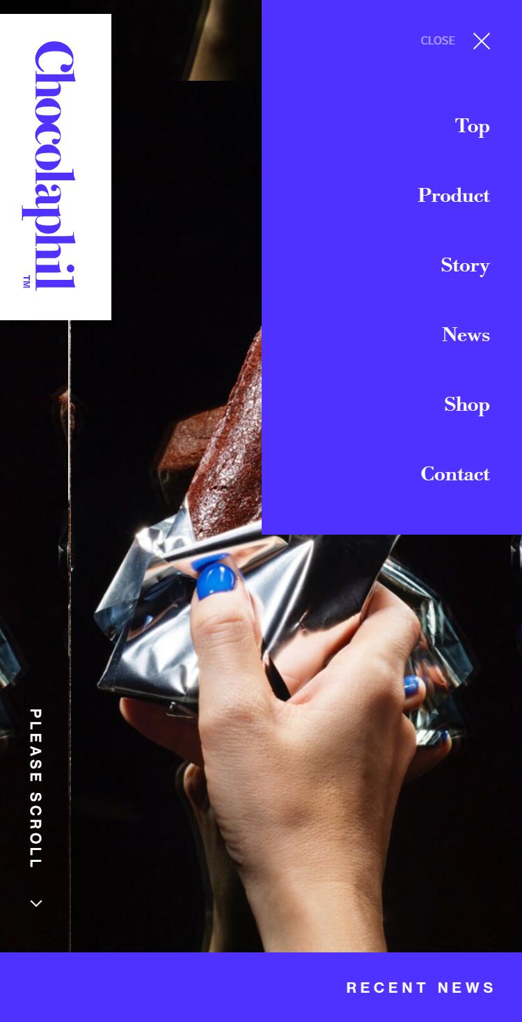 Chocolaphil | ガトーショコラ専門店 メニュー