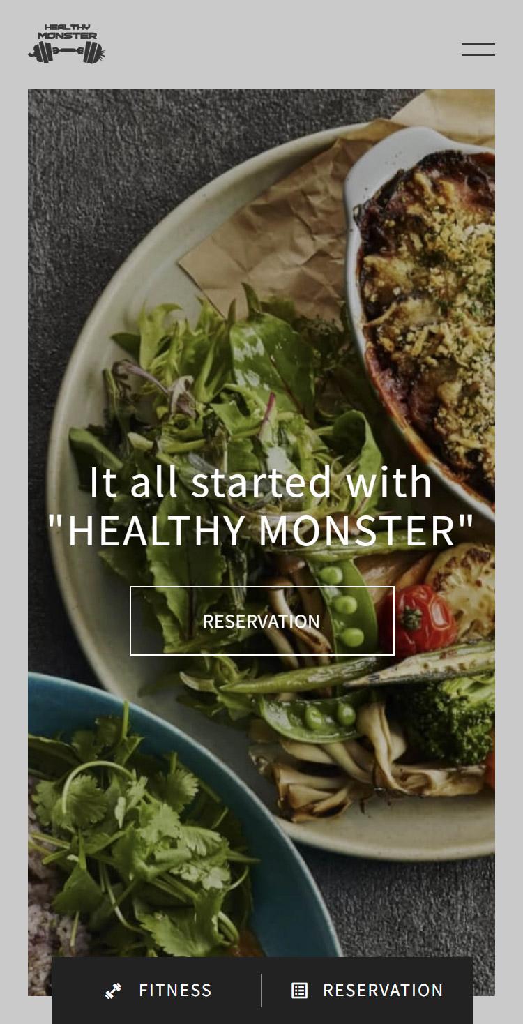 HEALTHY MONSTER CAFÉ | ヘルシーモンスターなら提供できる「健康」