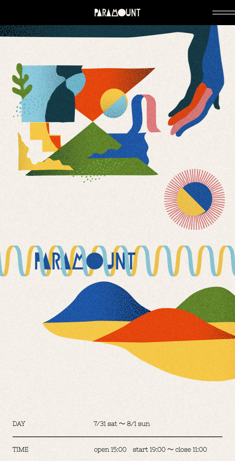 PARAMOUNT2021 Open air free party