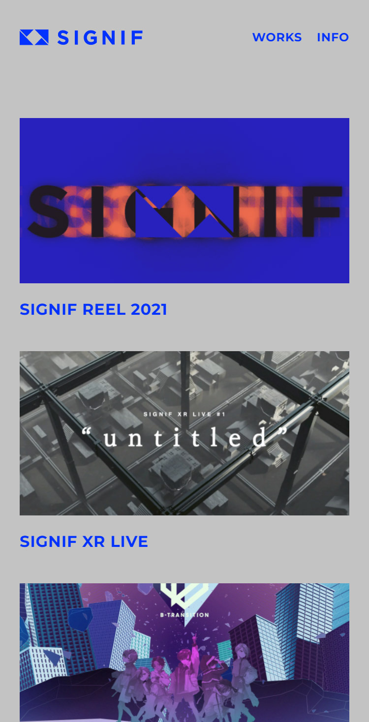 SIGNIF – Official Web Site