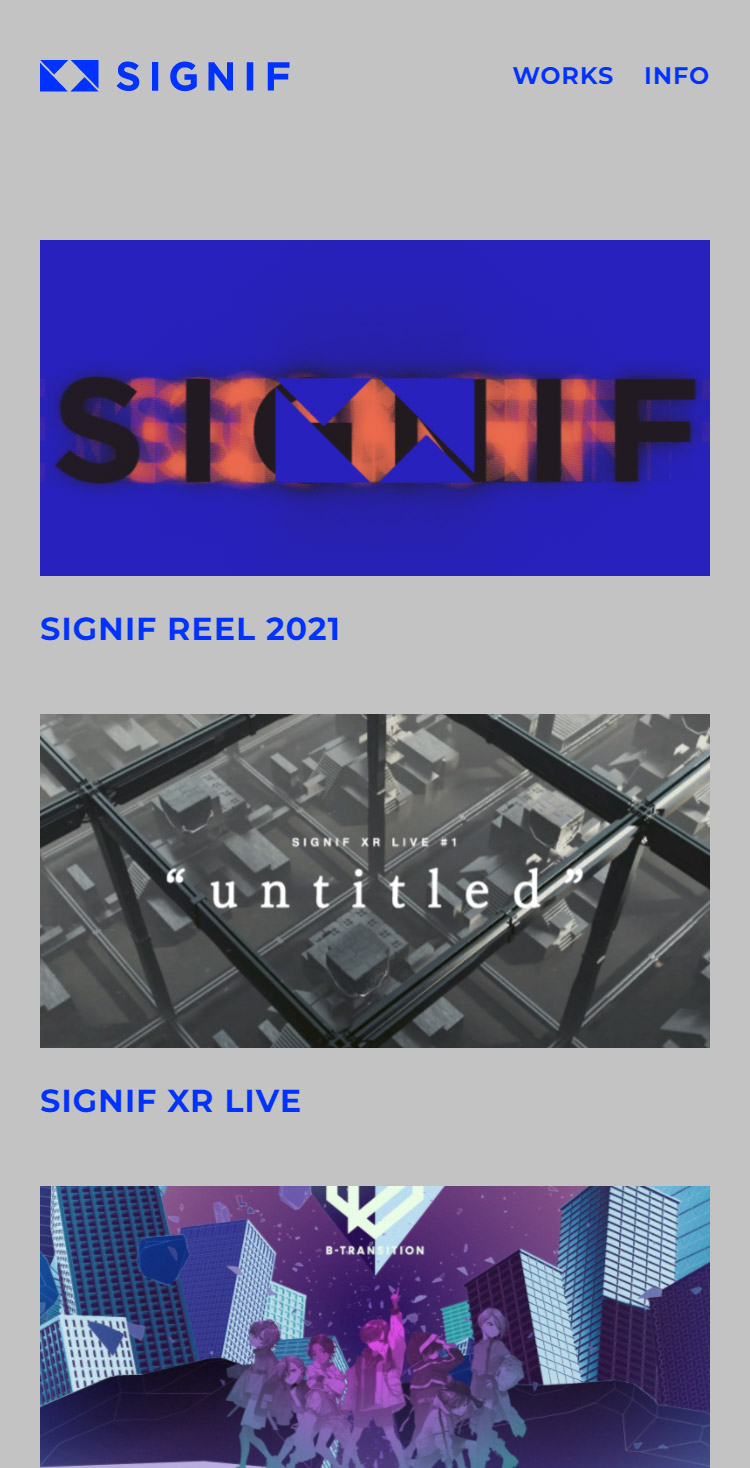 SIGNIF - Official Web Site
