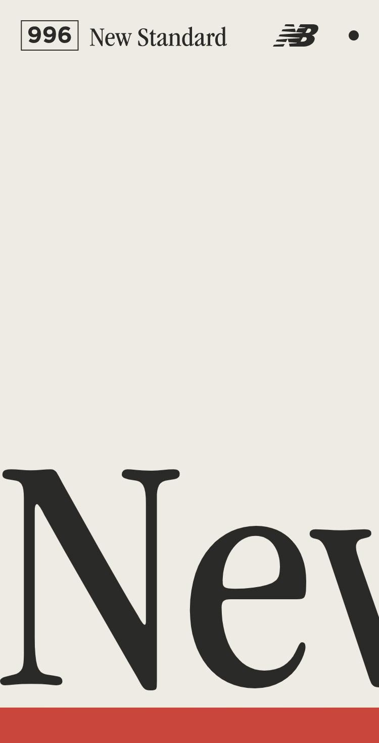 【NB公式】ニューバランス | 996 New Standard