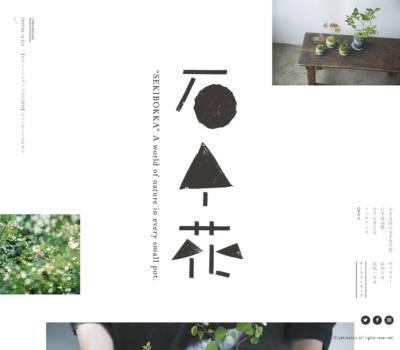石木花 | 小さな器に大きな自然