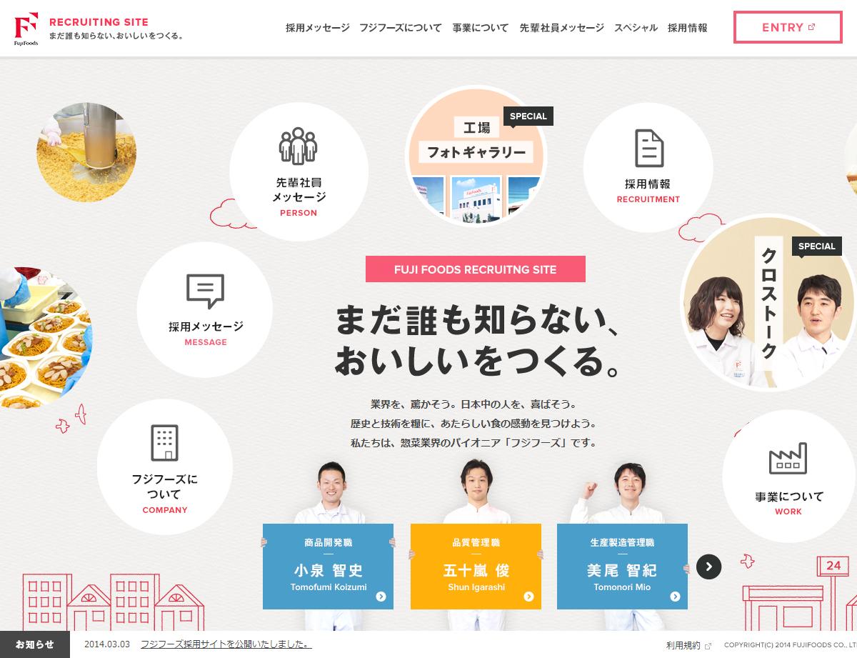 Fuji Foods RECRUITING SITE