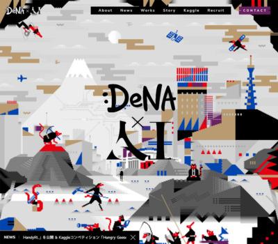 DeNA×AI | 技術と、革新と、未来と。