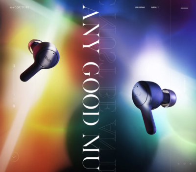 EarCOUTURE – Any good music must be an innovation.