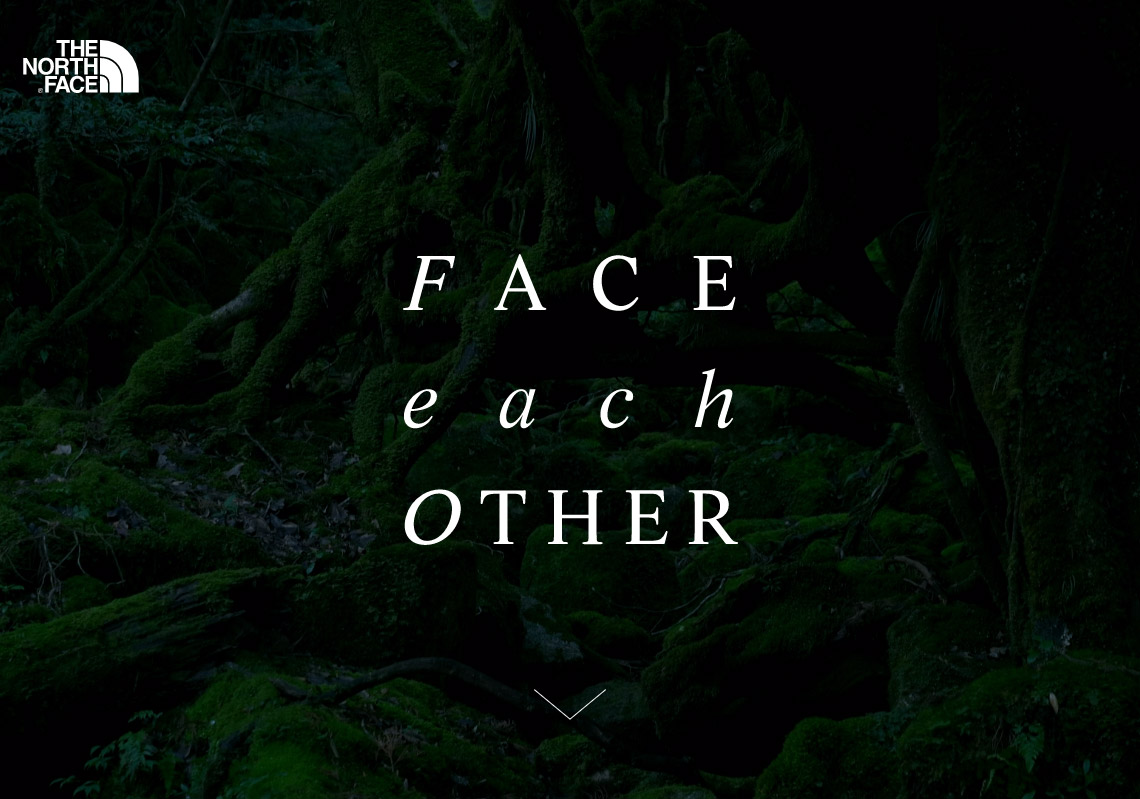 FACE each OTHER | THE NORTH FACE