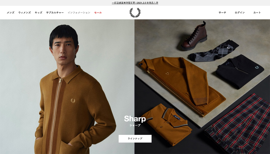 FRED PERRY JAPAN
