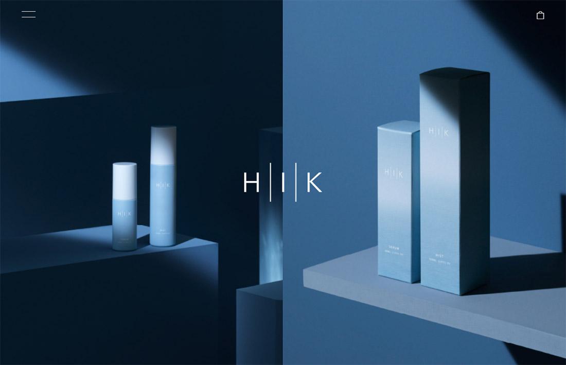 美しさとは引き出すこと HIK 公式サイト