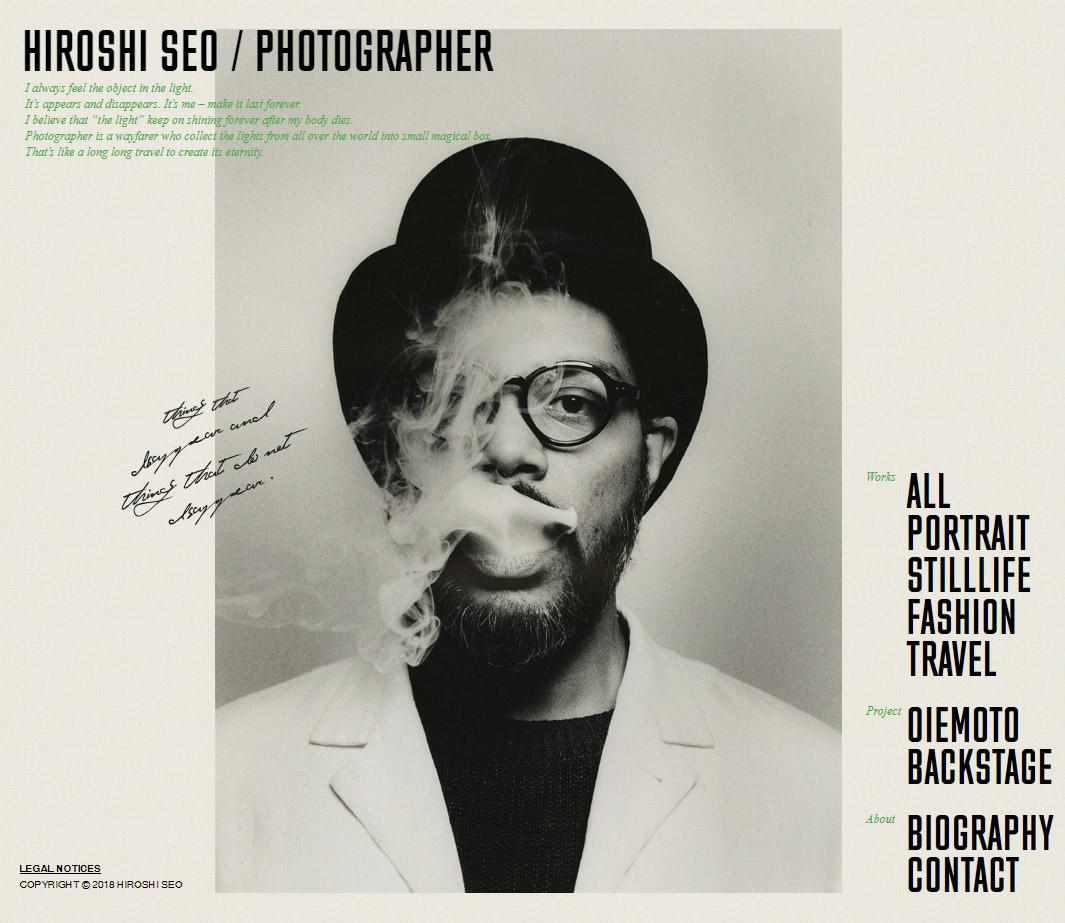 HIROSHI SEO PHOTOGRAPHER