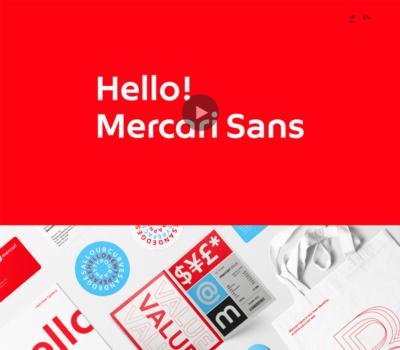 Hello Mercari Sans | メルカリデザイン