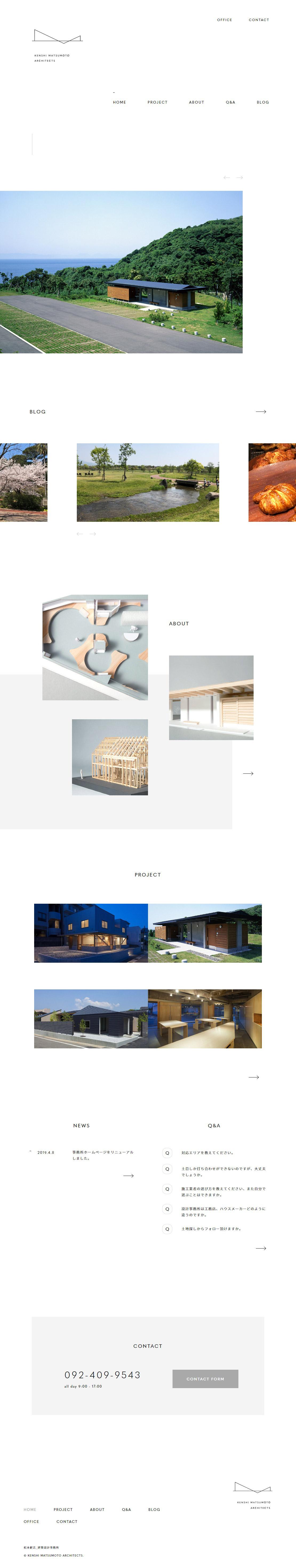 KENSHI MATSUMOTO ARCHITECTS