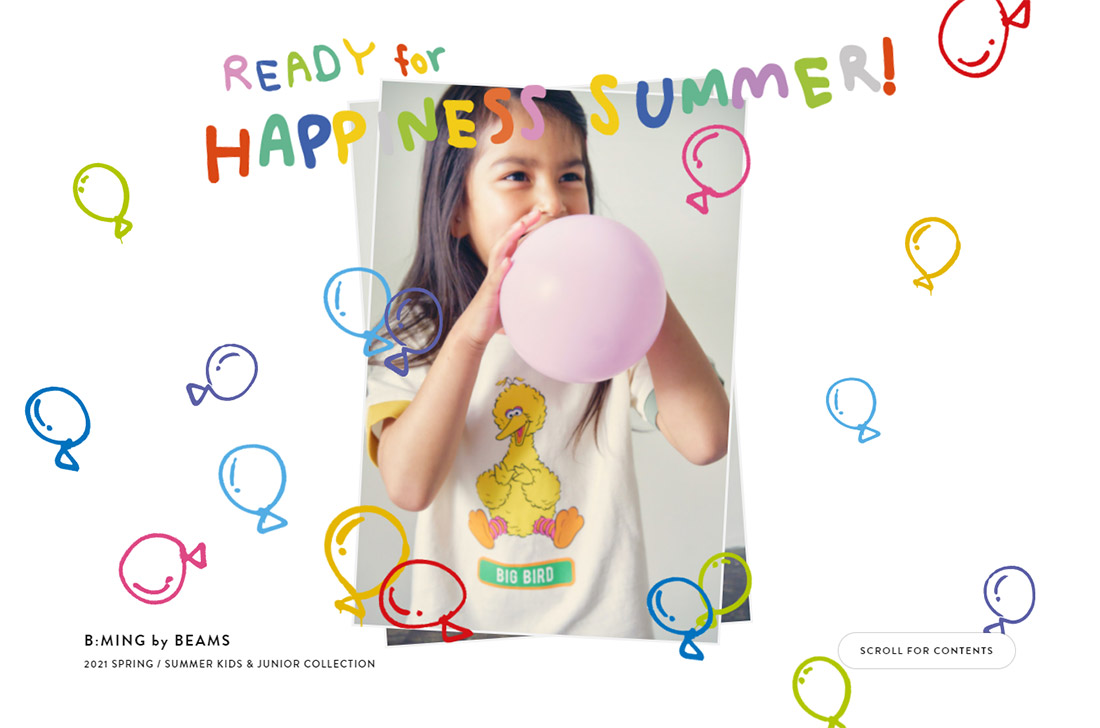 READY for HAPPINESS SUMMER! | B:MING by BEAMS