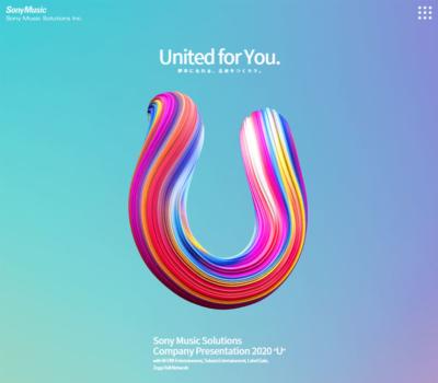 "Sony Music Solutions Company Presentation 2020 ""U"""