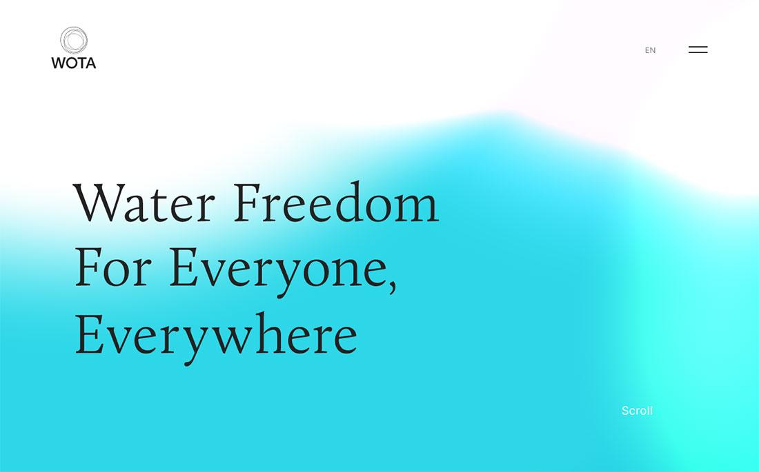 WOTA | Water Freedom for Everyone,Everywhere