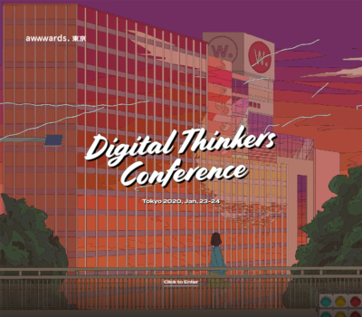 Web Design Conference Tokyo – Digital Thinkers – Awwwards